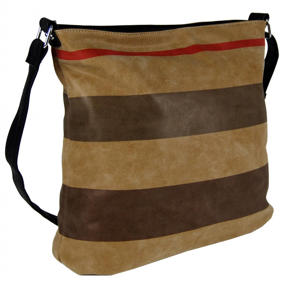 Crossbody kabelka z brúsenej kože TH2036