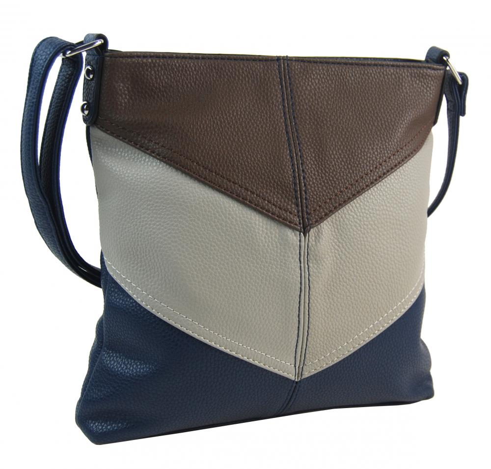 Modrá crossbody dámská kabelka 2080-BB