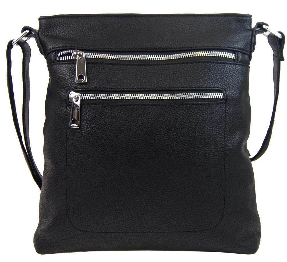 MAHEL Crossbody dámská kabelka černá 336-MH