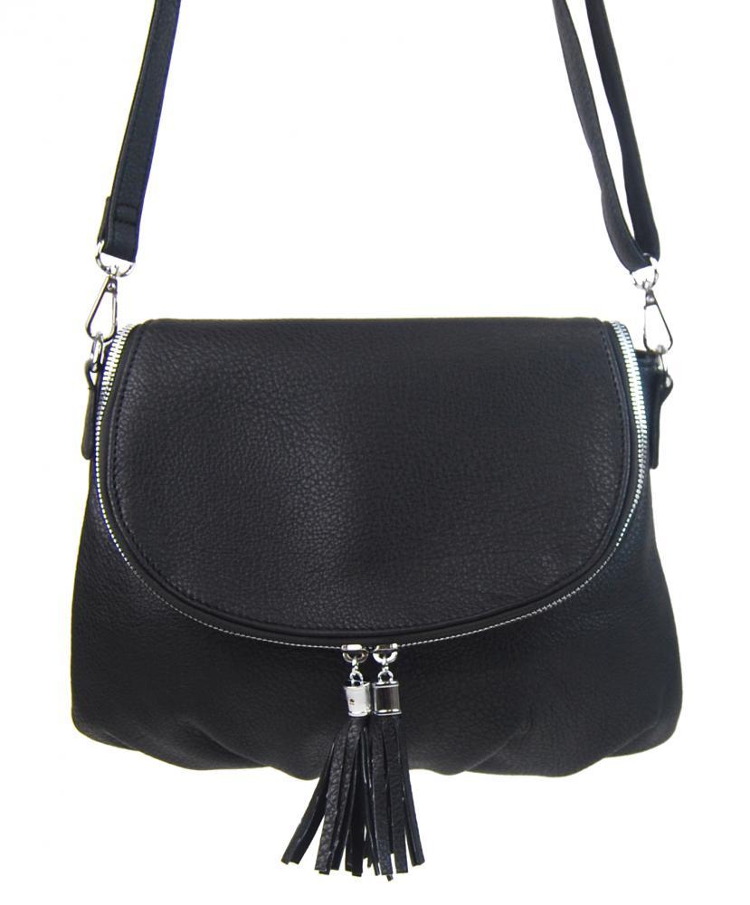 BELLA BELLY Crossbody dámská kabelka černá 5458-BB