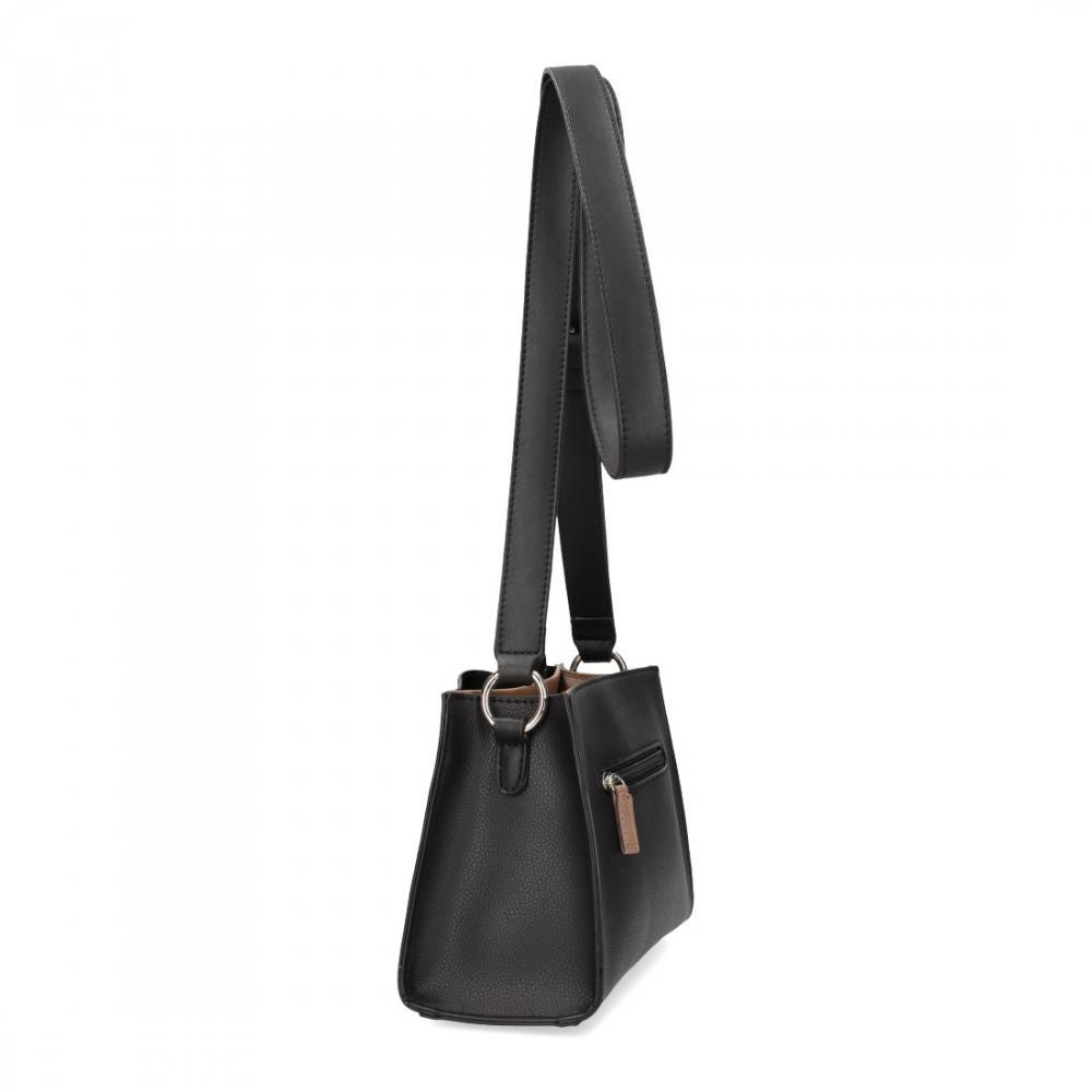Černá matná dámská crossbody kabelka David Jones 5853-1