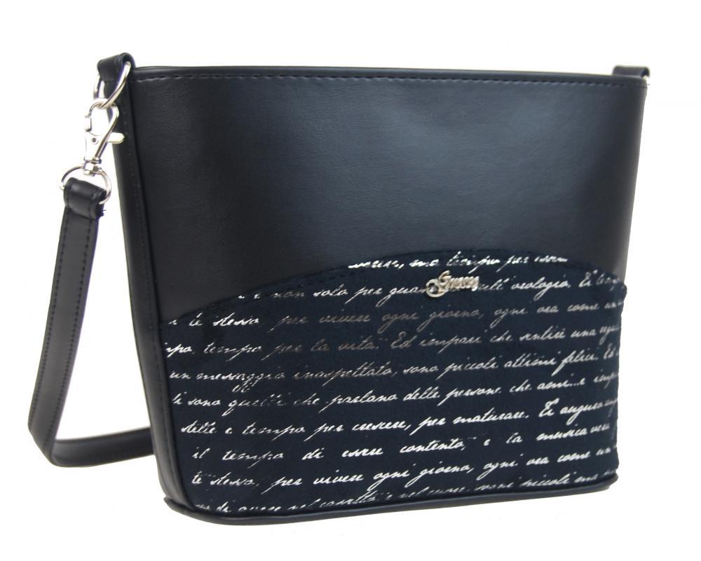 GROSSO Crossbody dámská kabelka černá M292