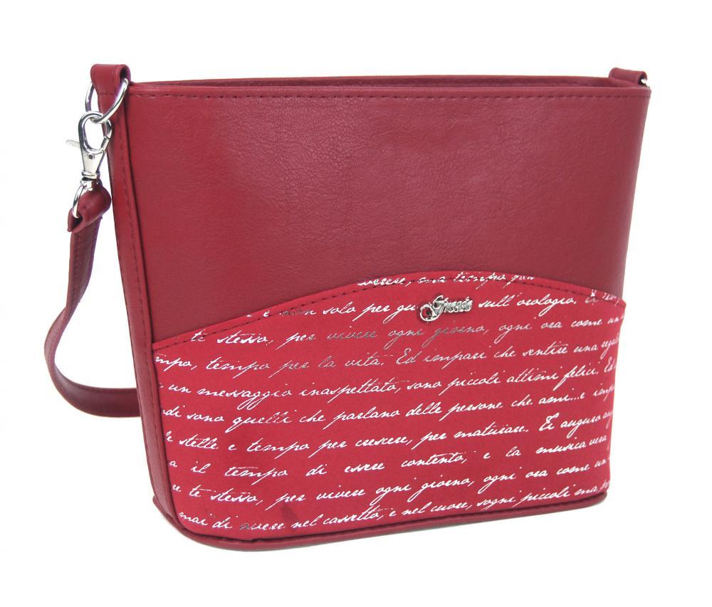 GROSSO Crossbody dámská kabelka červená M292