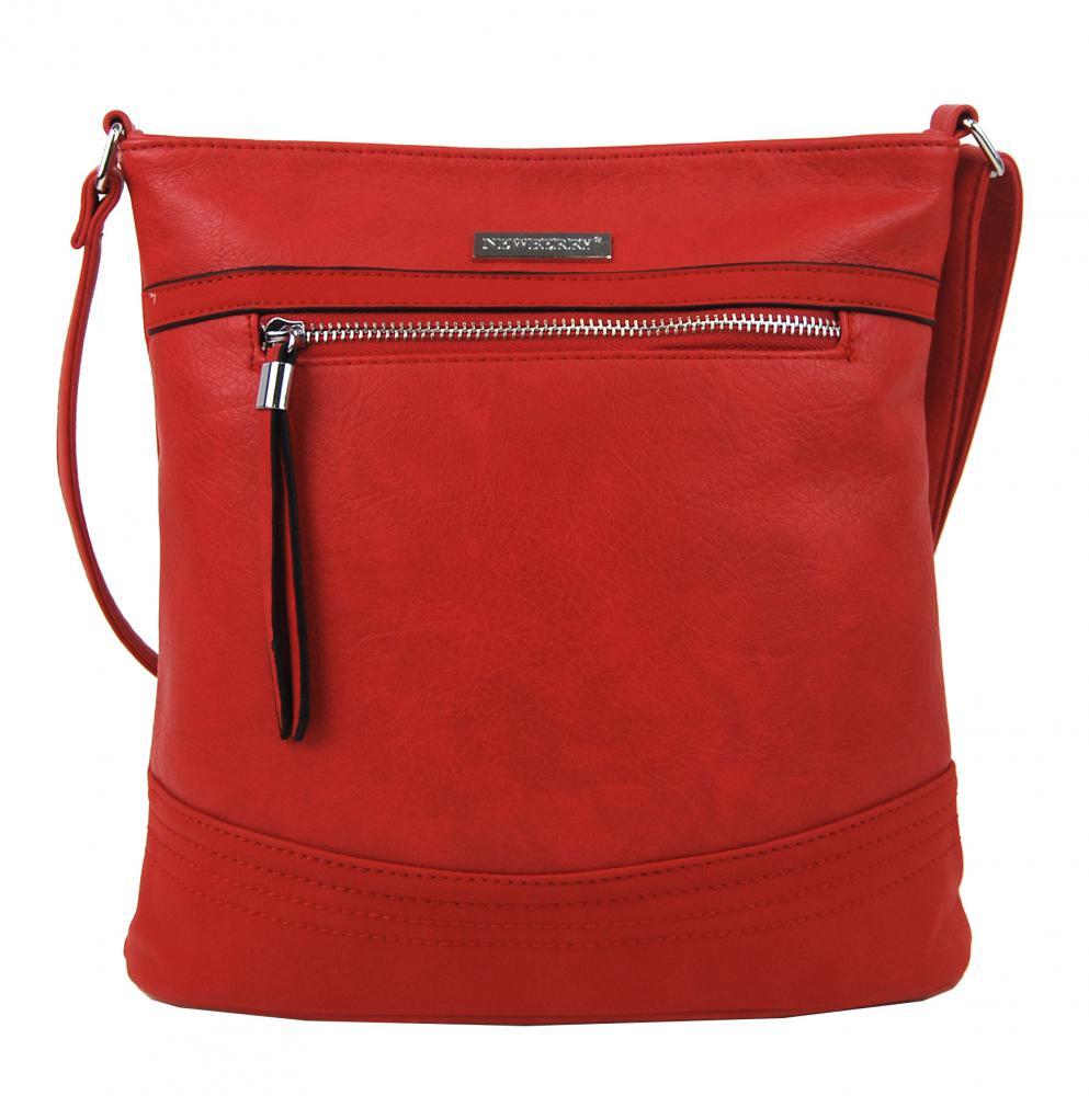 Dámska crossbody kabelka NH8040 červená