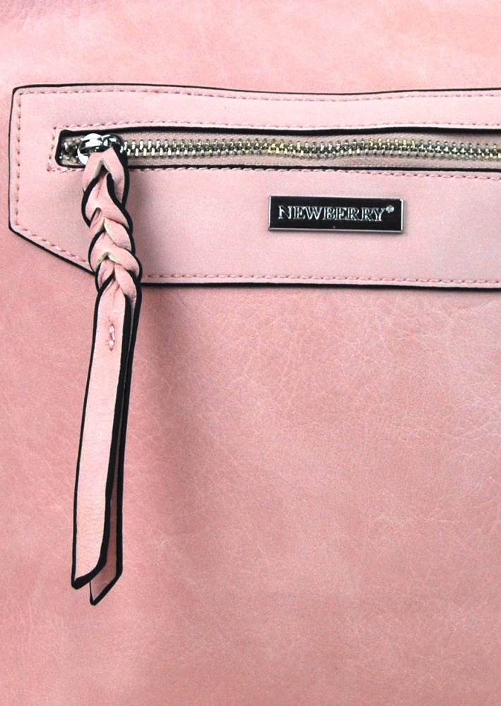 Dámska crossbody kabelka NH8041 ružová