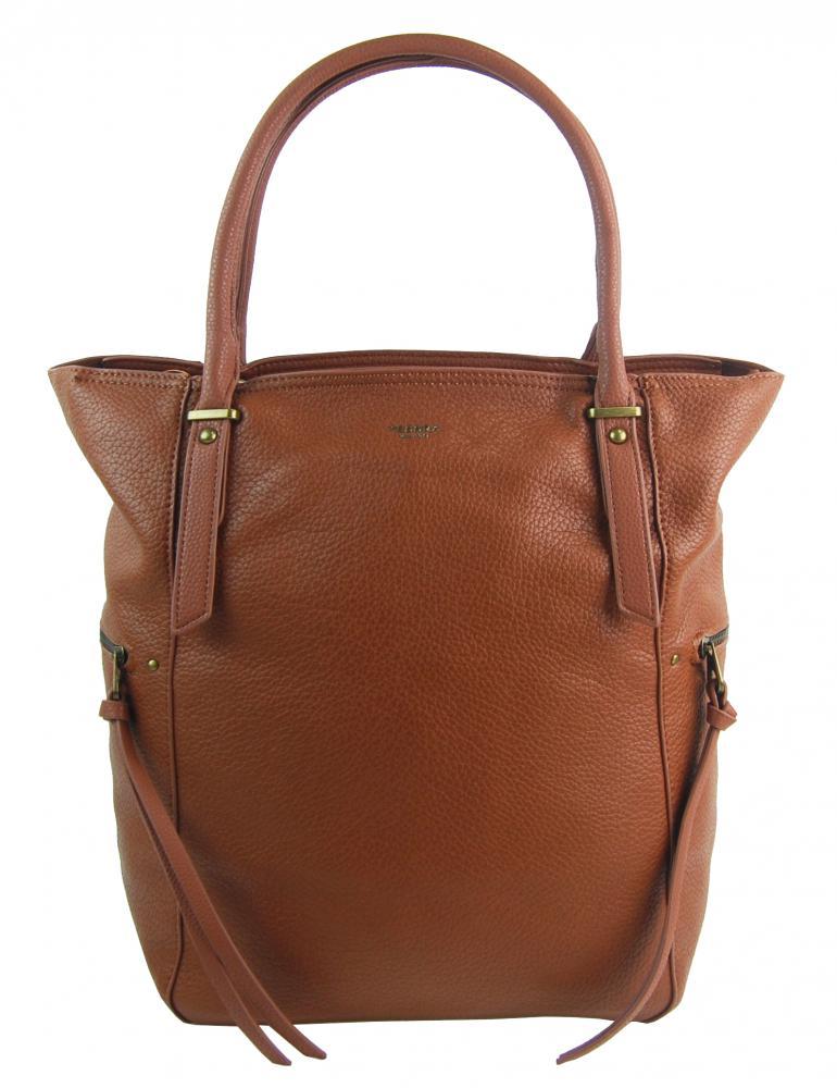 Veľká hnedá dámska kabelka 5054-TS