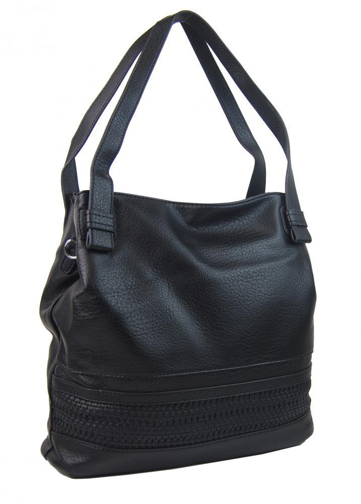 Bella Belly 5407-BB praktická dámska kabelka cez plece - Čierna