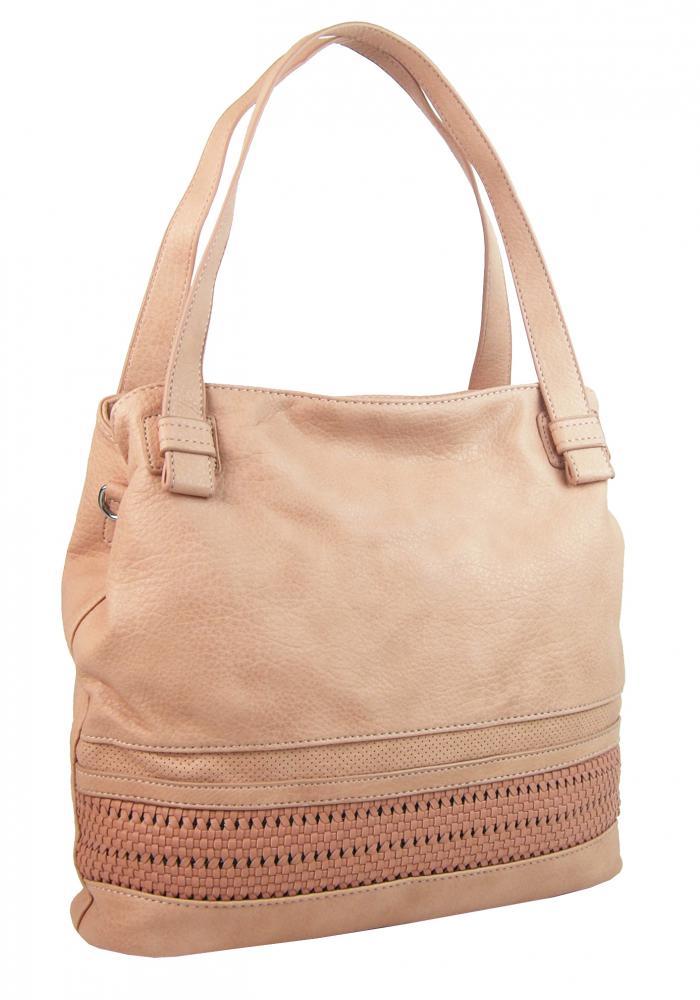 BELLA BELLY dámská kabelka přes rameno růžová / pudrová 5407-BB