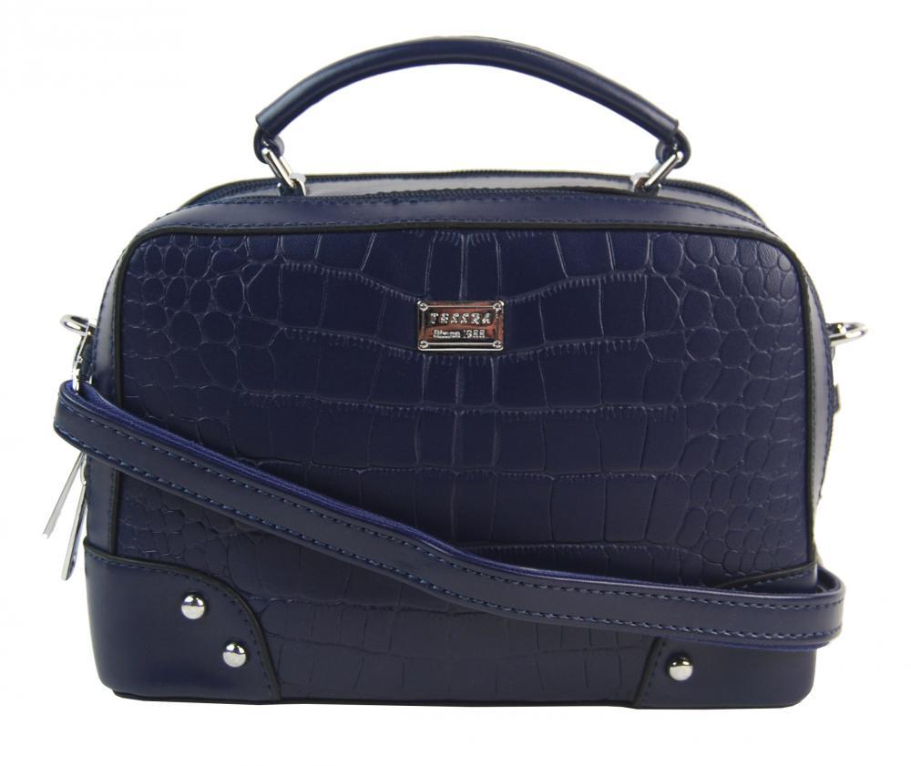Crossbody i do ruky dámská kabelka tmavě modrá 4881-TS