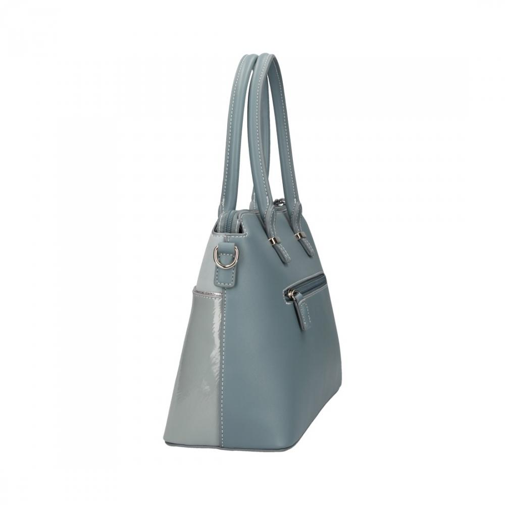 Svetlo modrá dámska elegantná kabelka David Jones
