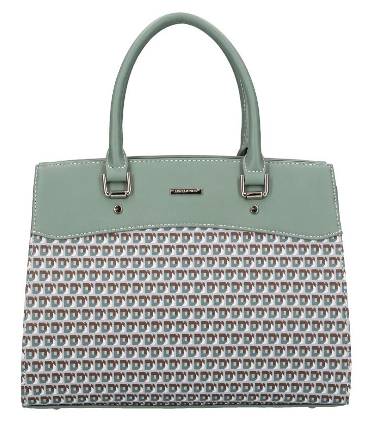 David Jones zelená dámská kabelka do ruky 5936-3