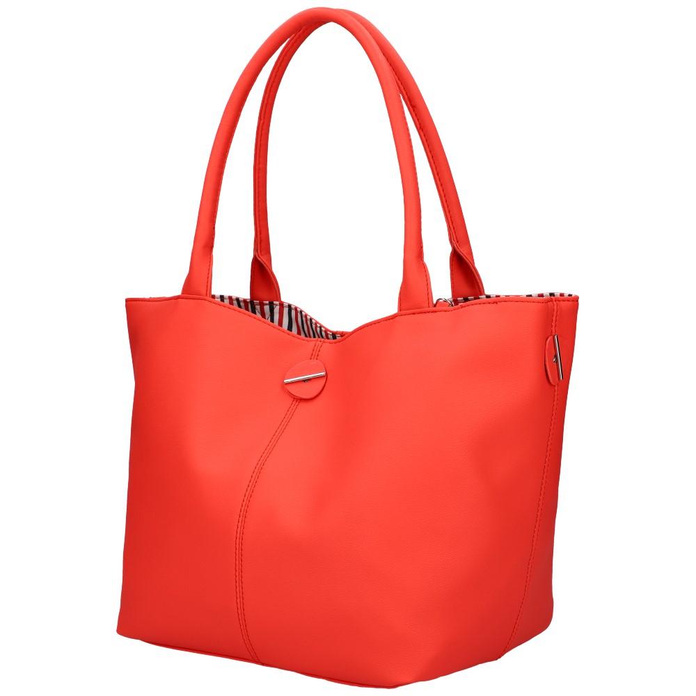 DAVID JONES Obojstranná dámska kabelka cez rameno červená