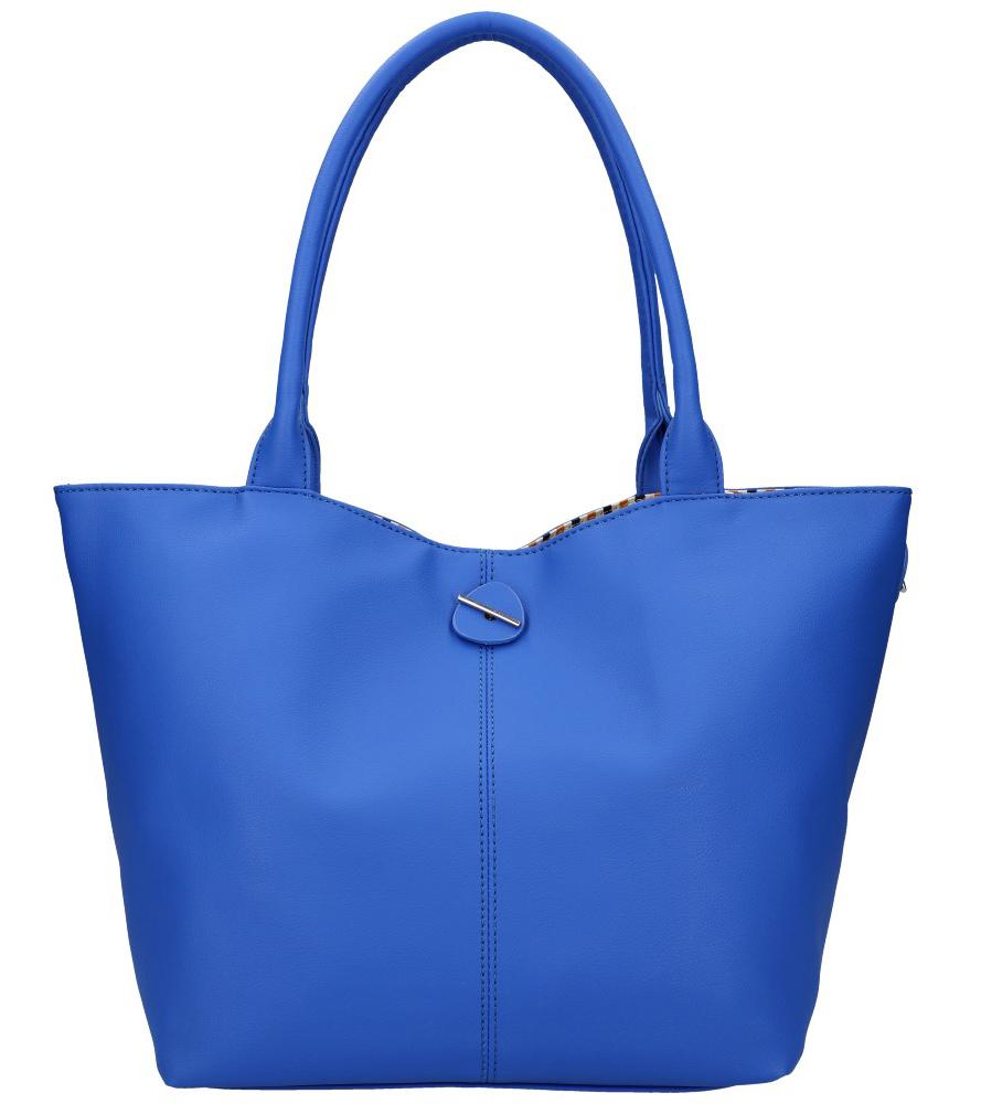 DAVID JONES Obojstranná dámska kabelka cez rameno modrá
