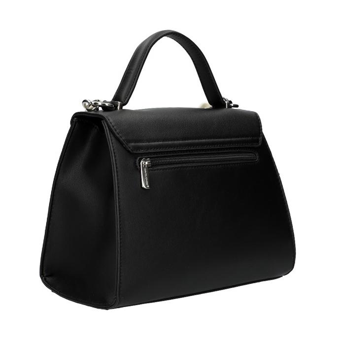 DAVID JONES Černá elegantní dámská kabelka CM5791