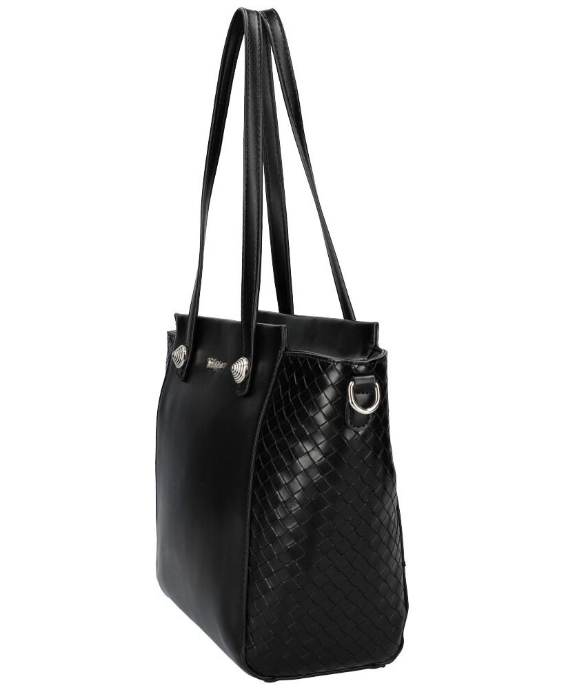 DAVID JONES Černá dámská kabelka přes rameno CM6081