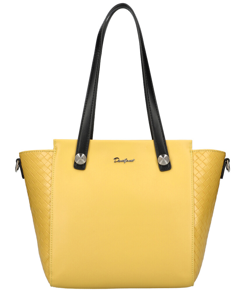 DAVID JONES Žlutá dámská kabelka přes rameno CM6081
