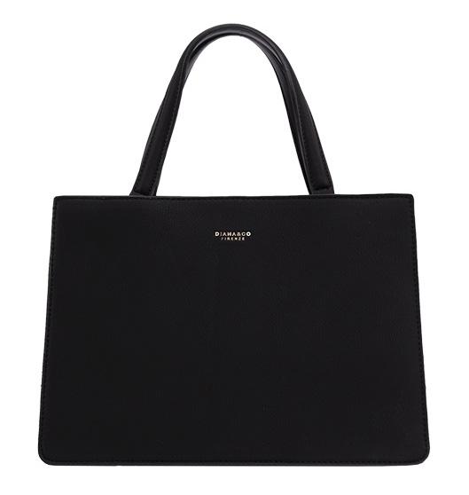 DIANA & CO Dámska kabelka do ruky čierna