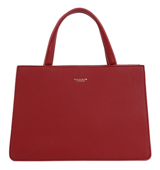 DIANA & CO Dámska kabelka do ruky červená