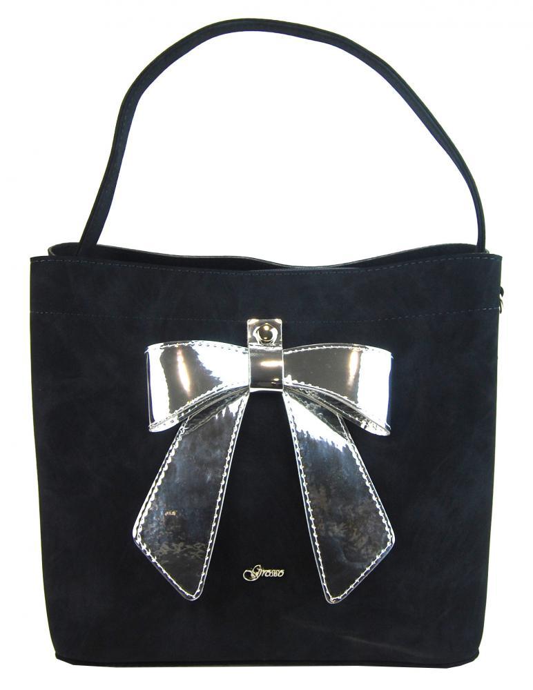 GROSSO modrá dámská kabelka S755