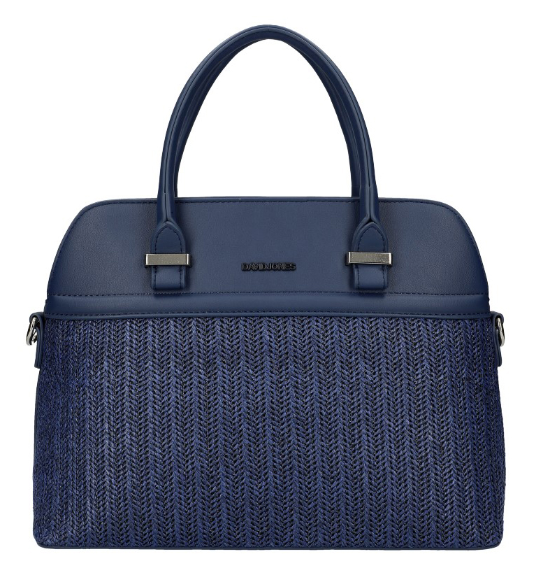 DAVID JONES tmavě modrá dámská kabelka do ruky 6287-1
