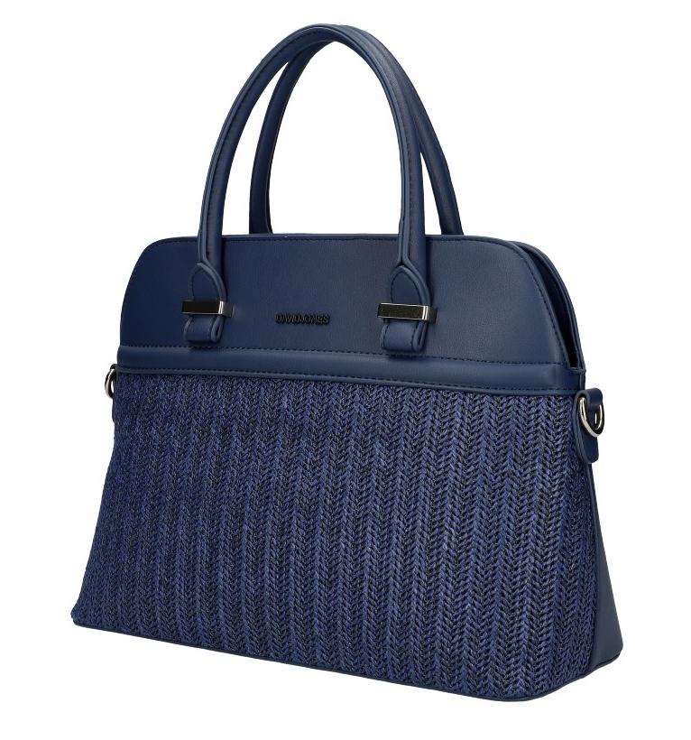 DAVID JONES tmavo modrá dámska kabelka do ruky 6287-1