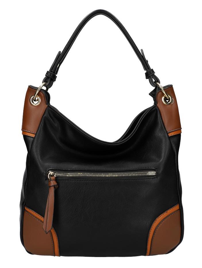 Dámska kabelka KR559 čierna