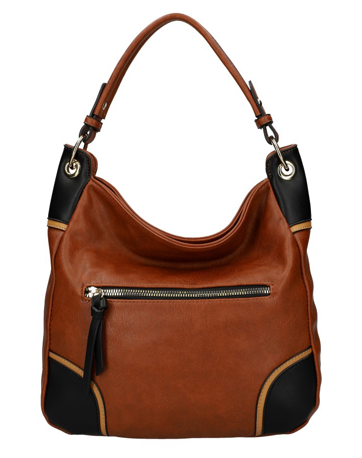 Dámska kabelka KR559 hnedá