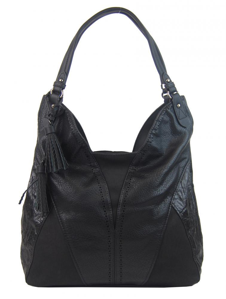 BELLA BELLY Dámská kabelka přes rameno černá 5139-BB