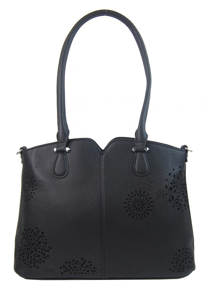 Bella Belly dámska kabelka cez plece 5433-BB - Čierna