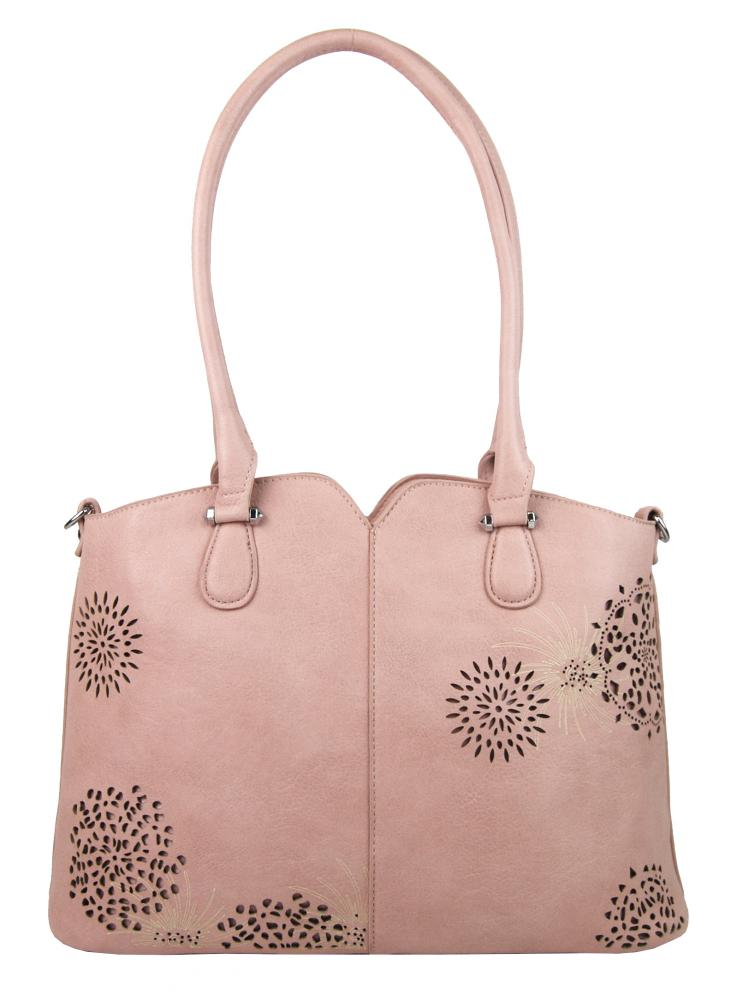 Bella Belly dámska kabelka cez plece 5433-BB - Ružová