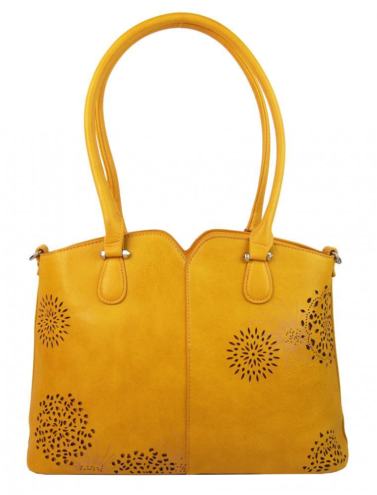 BELLA BELLY Dámská kabelka přes rameno žlutá 5433-BB