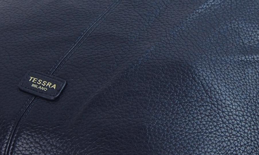 Moderná tmavo modrá dámska kabelka cez plece 5064-TS