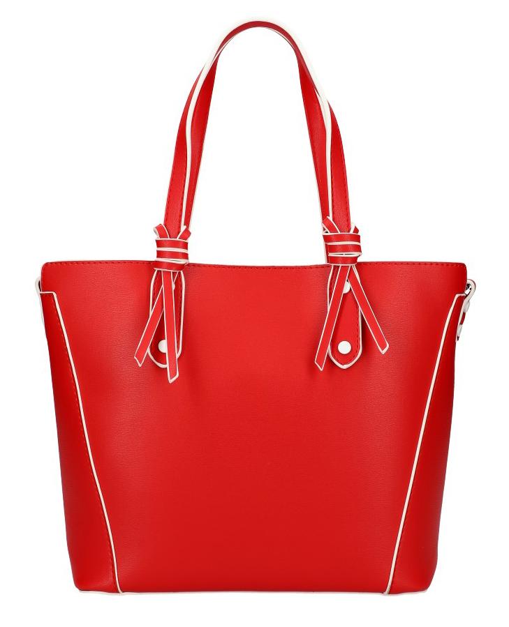 VALENTINA MADRID Červená španělská dámská kabelka