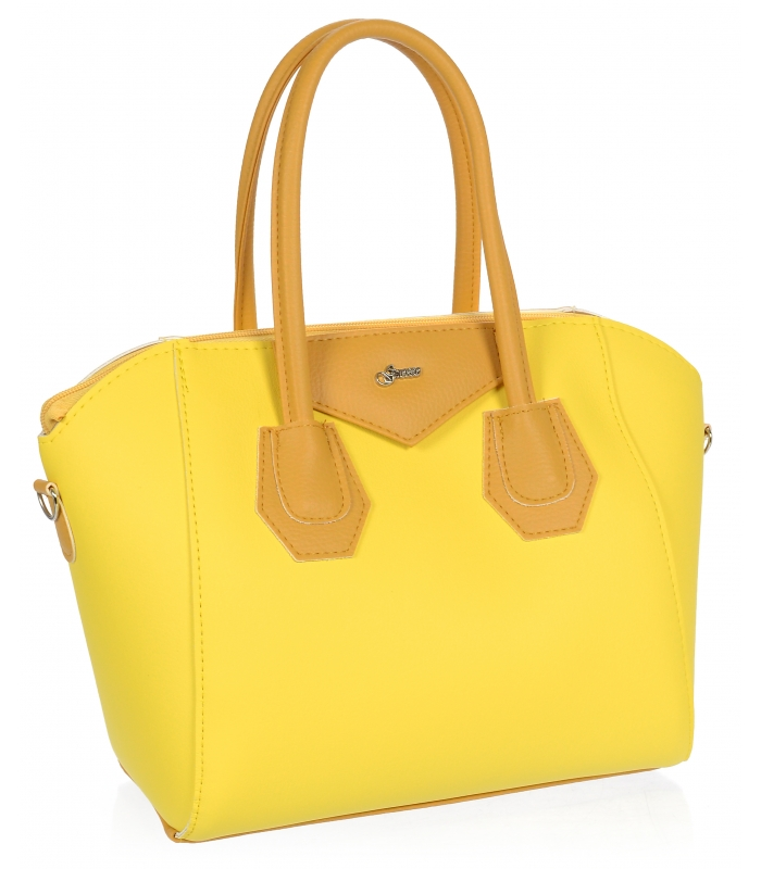 Žlutá dámská kabelka S744 GROSSO