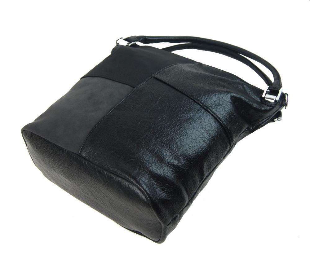 Kombinovaná dámska kabelka NH8028 čierna