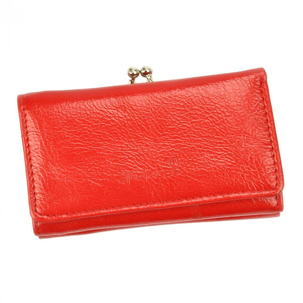 Andrea praktická červená dámska peňaženka