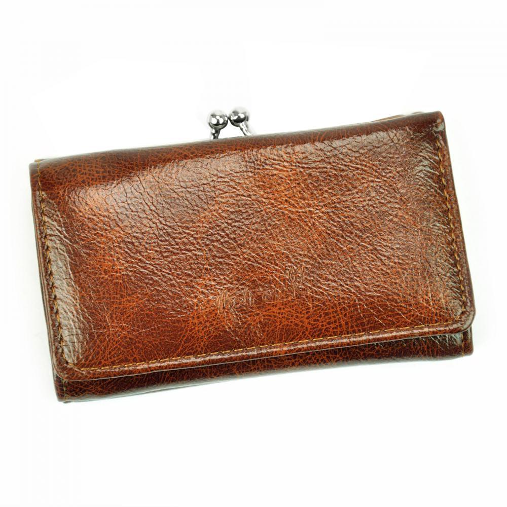 Andrea praktická hnedá dámska peňaženka