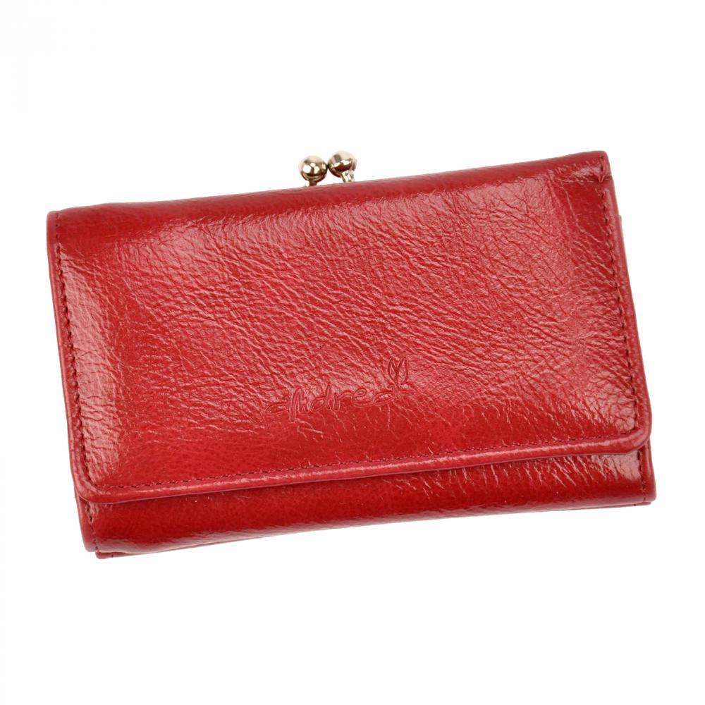 Andrea praktická tmavo červená dámska peňaženka
