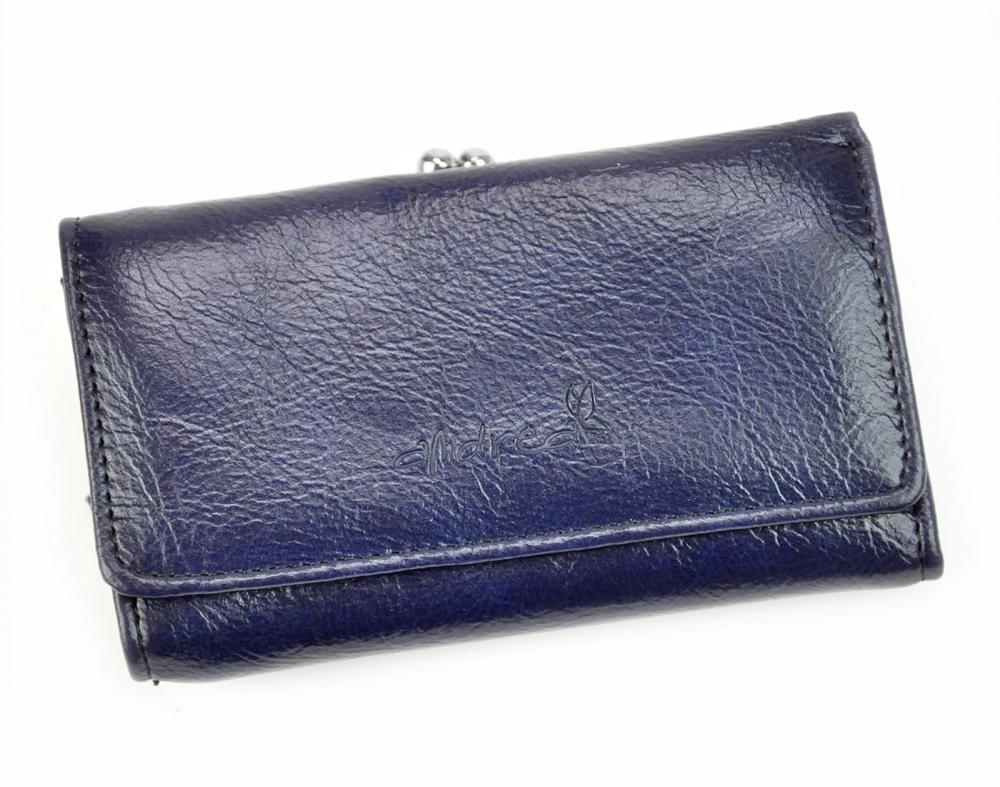 Andrea praktická modrá dámska peňaženka