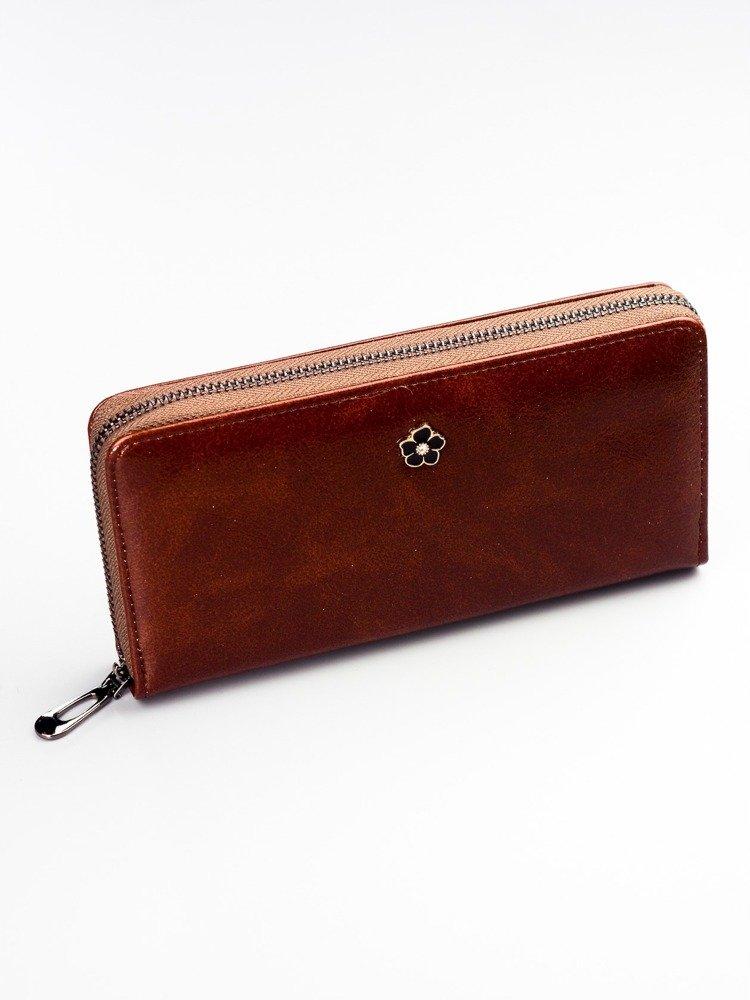 Cavaldi hnedá dámska peňaženka koža / PU v darčekovej krabičke
