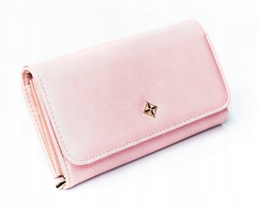 Ružová dámska peňaženka v darčekovej krabičke MILANO DESIGN