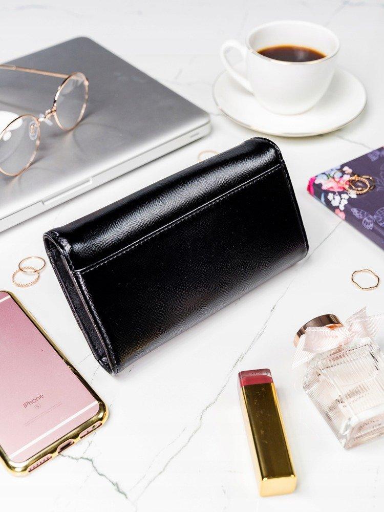 Černá dámská peněženka v dárkové krabičce MILANO DESIGN