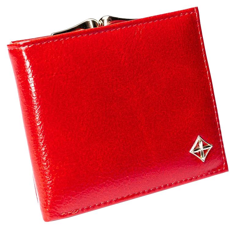 Stylová červená dámská peněženka v dárkové krabičce MILANO DESIGN