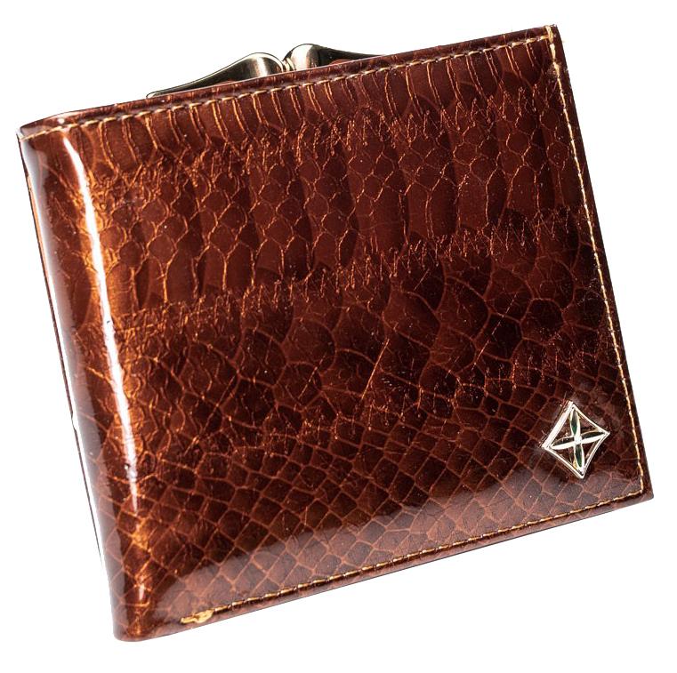 Stylová hnědá dámská peněženka v dárkové krabičce MILANO DESIGN