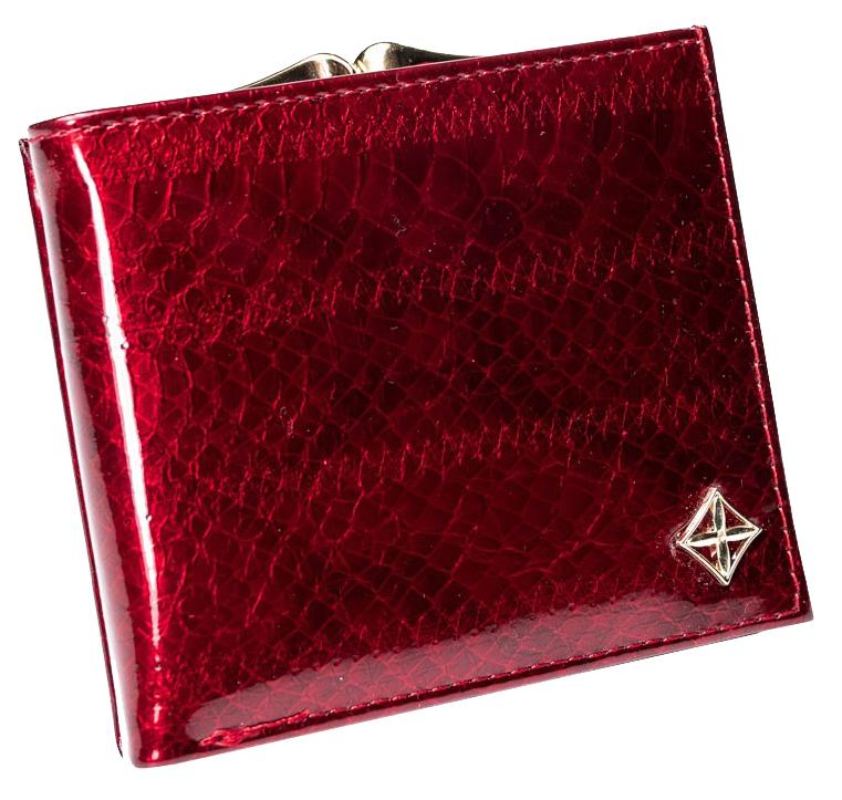 Stylová bordová dámská peněženka v dárkové krabičce MILANO DESIGN