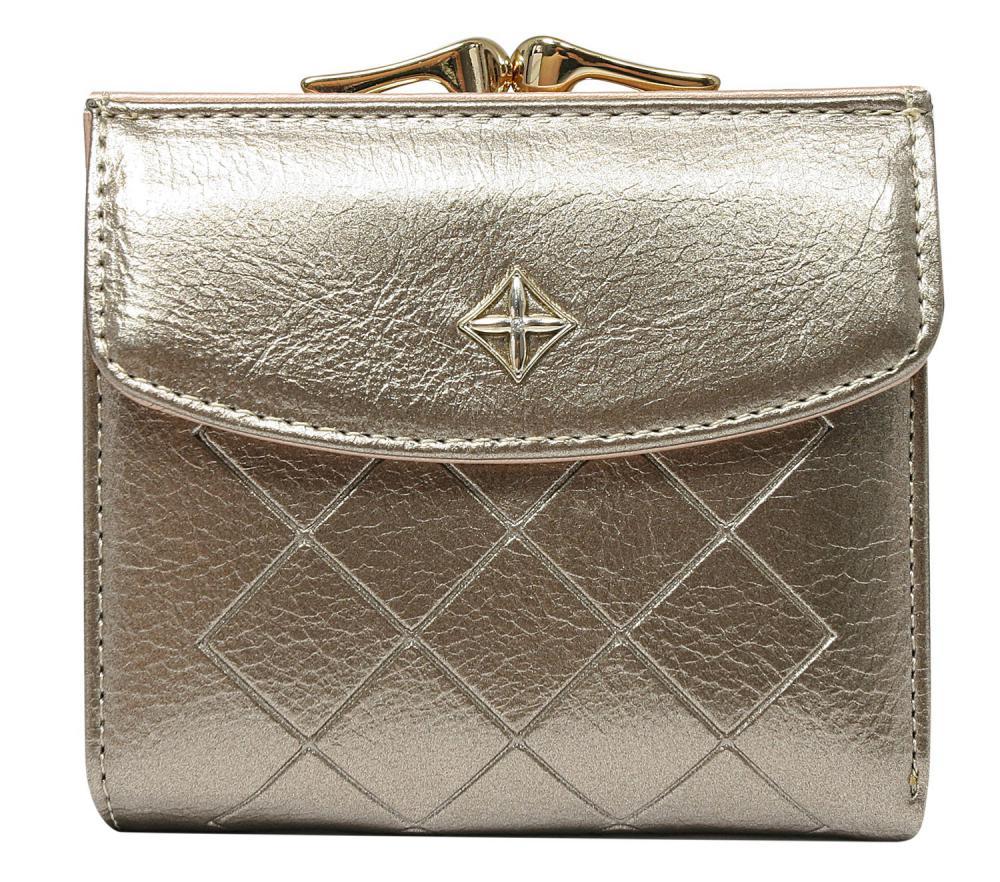 Elegantní zlatá dámská peněženka v krabičce MILANO DESIGN