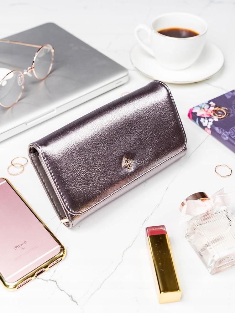 Stříbrná dámská peněženka v dárkové krabičce MILANO DESIGN