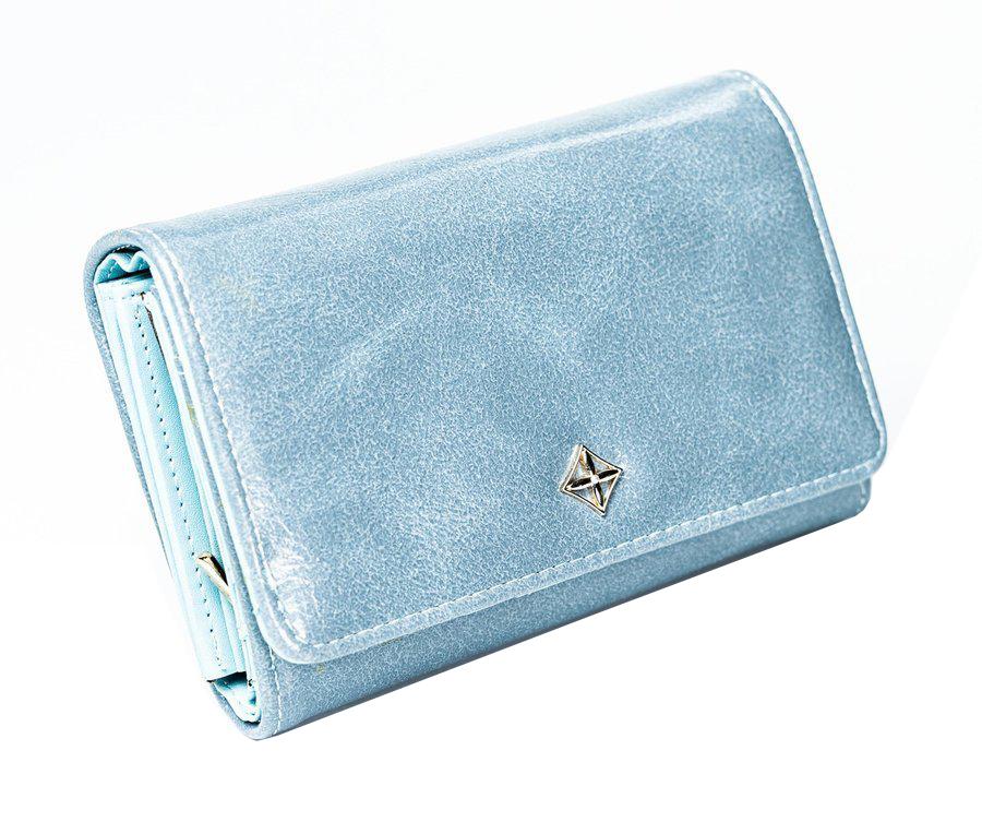 Modrá dámská peněženka v dárkové krabičce MILANO DESIGN