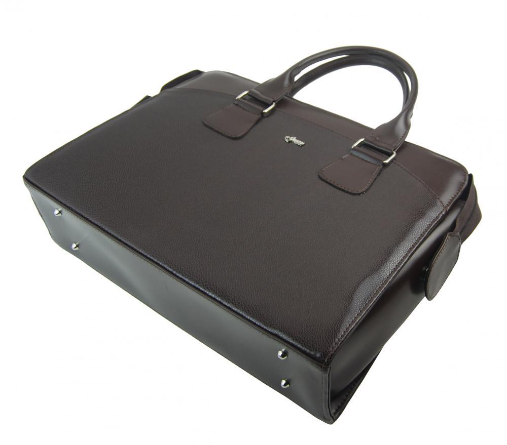 """Dámská taška na notebook tmavě hnědá matná ST01 15.6"""" GROSSO"""