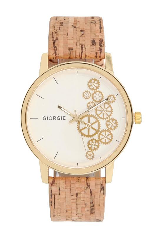 Korkové náramkové dámske hodinky Giorgie TC19032